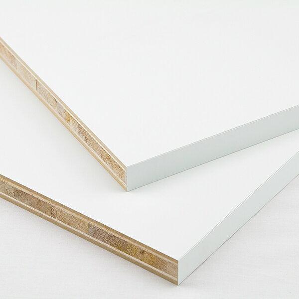 ポリランバーパネル(白)20x300x1800(1t)約4.8kg 棚板 オーダー ポリ 板
