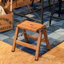 踏み台 木目調 ステップ台 1段 モクリ【脚立 ステップ スツール アルミ 一段 はしご 梯子 折りたたみ 折り畳み おし…