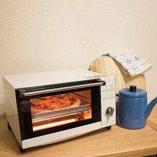 クーポン ピエリア ビッグオーブントースター おしゃれ トースト オーブン トースター ホワイト