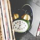 目覚まし時計 フロイル ベル CL-2143 インターフォルム【目覚まし 時計 置時計 スヌーズ機能 インテリア 雑貨 ゴールド ベル ハンサム ..