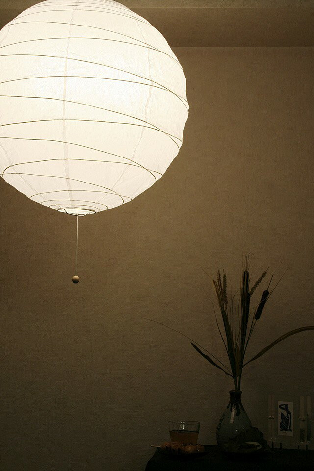 Mollif rakuten global market japanese light japanese style paper lanterns and cross lantern - Paper lighting fixtures ...