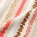 【ドットストライプ柄】ナイロンタフタプリントナイロン100% 生地 布幅122cm 日本製注)個数1=10cmです。50cm以上からの販売です。 木綿のかおり ≪商用利用可≫