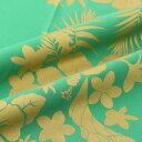 楽天生地のお店 木綿のかおりお得なクーポン配布中♪ 生地 布 ハワイアン 注)個数1=10cmです。50cm以上、10cm単位の販売です。 木綿のかおり