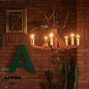 【日本製】APROZ アプロス:PANDELIER(ウッド&真鍮シャンデリア7灯)パンデリア/照明/ランプ/ライト/シャンデリア/ウッド/ウォールナット/真鍮/インテリア/リビング/ダイニング/AZP-595-BR