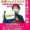 【日本製マスク】本格フェイスマスク100枚 【新型インフルエンザ対策】 ★信頼の日本製 不織布 【PM2.5対応フイルター】【医療機関で使用の器具・材料】【あす楽】