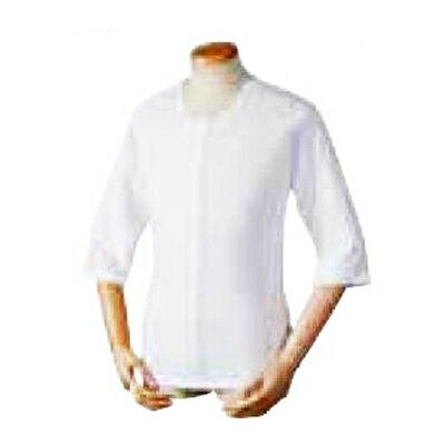 らくらく前開き肌着紳士用七分袖ホワイト#7505[エンゼル]【5400円以上購入で送料無料】