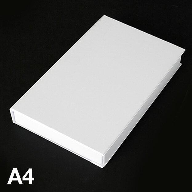 A4ブック型ケース(ホワイト)...:mon-o-tone:10000001