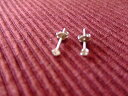 Diamond WG pierced earrings 05P17May13