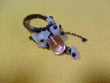 Glass Jewerly リング(ピンク) 10P01Mar15
