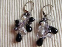 1 (onyx) Mona original pierced earrings 05P17May13