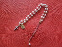 Necklace 05P06may13 of the Ocycrius japonicus &amp; cross &amp; pearl of the Paris  wonder