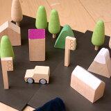 kiko+ machi (まち、町、街、マチ) 木のおもちゃ(知育玩具)出産祝いや子供のプレゼントに人気!【誕生日プレゼント 1歳/2歳/3歳/4歳 女/男】【kiko+ キコ K