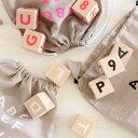 ooh noo(オーノー) Alphabet blocks 積み木 アルファベットブロック(black、white、neon pink)出産祝い・ギフトや誕生日プレゼントに人気!【子供 ベビー キッズ】【知育玩具 木製玩具】【木のおもちゃ】【プレゼント】【インテリア 置き物】
