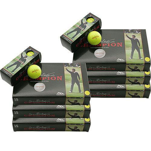 MD ゴルフ セベ チャンピオン ボール【イエロー】【6パック 90球】【セベ・バレステロス】【MD GOLF】【ポイント2倍】【期間限定】【ゴルフ】 飛びの追求!ゴルフボール