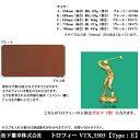 トロフィー VTX3505 E ゴルフ男【松下徽章】【文字刻印代無料】【コンペ景品】