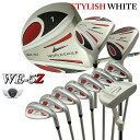 ワールドイーグル 5Zホワイト メンズゴルフクラブセット13...