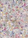 LIBERTYリバティプリントWild Flowers(ワイルド・フラワーズ)国産エターナル柄3634251-AEグレー&パープル