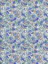 LIBERTYリバティプリントClaire-Aude(クレアオード)国産カットクロス3332022ブルー