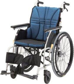 送料無料離島・その他一部地域を除くウルトラシリーズ自走用車椅子NA-U1全幅56cm全高89cm全長