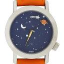 アクテオ AKTEO 腕時計 34mm ASTRONOMY 時計 オレンジ フランス製【05P05Nov16】