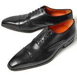PERTINI ペルティニ ストレートチップ 22186 ブラック【サイズ交換無料】【ドレスシューズ 革靴 ビジネス メンズ インポート】PERTINI