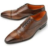 PERTINI ペルティニ ストレートチップ 22186 ブラウン 【サイズ交換無料】【ドレスシューズ 革靴 ビジネス メンズ インポート】PERTINI
