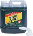 ムラテックKDS シンプルグリーン (詰替式ボトル) 4L SGN-4L