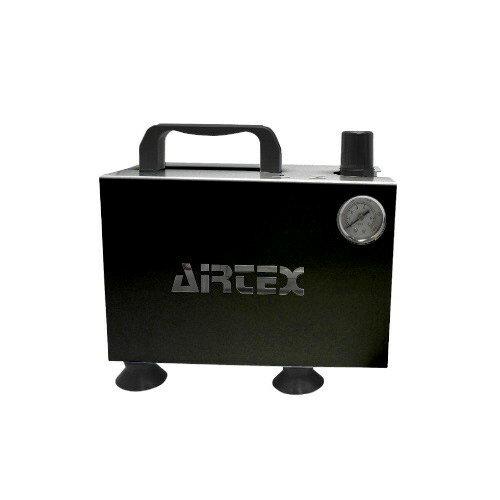 エアテックス ボックス型コンプレッサー APC-018 ブラック