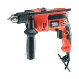 BLACK&DECKER550W 13mm 振動ドリルKR554RE
