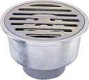 カクダイ 浴室用排水ユニット VP、VU兼用ワントラップ 100×50