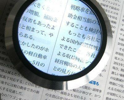 小さな文字にお悩みの方に LED拡大鏡 スモリア3R-SMOLIA-5