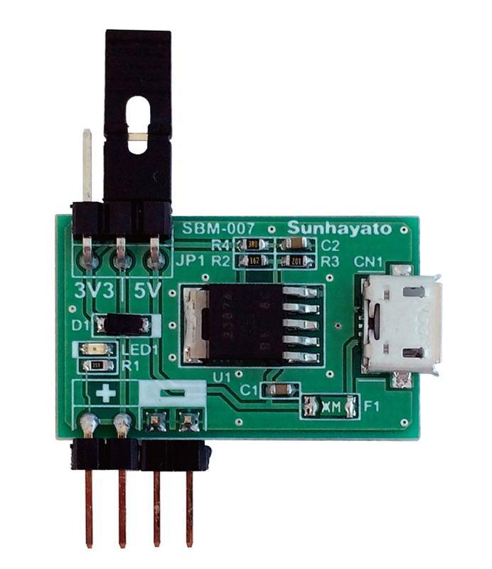サンハヤト(Sunhayato) ブレッドボード用USB電源ボード SBM-007