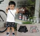 シュールアニマルプリントハーフモンキーパンツ日本製(70cm 80cm 90cm 95cm)