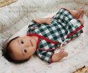 日本製で安心♪生まれたてベビーに最適な優しい肌触り、接結素材50cm-60cm新生児の為の短肌着『3989』【HLS_DU】『日本製』