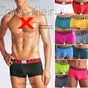 【2枚購入で送料無料】【カルバンクライン Calvin Klein CK】X MICRO / Low Rise Trunk(ローライズボクサーパンツ) カルバン・クライン 【男性下着 メンズ 下着】【楽ギフ_包装】【RCP】