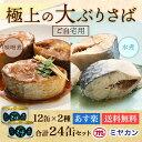 大ぶり 鯖の 高級 さば缶 24缶 セット ( 味噌煮 12...
