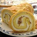 シューロール(*冷凍ケーキ ロールケーキ 18cm:約5~6名分) | ロールケーキ バースデー ケーキ 誕生日 お菓子 イベント 景品 会社 職場 大量 法人 食べ物 父の日 お中元 プレゼント ギフト 景品 プレゼント お土産 お返し