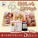 栃木地鶏「美 しゃも」焼肉セット豪華5点 絶品 軍鶏(