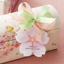 [メール便OK]季節を添える贈り物大きめな桜の花のゴム紐付きタグ10枚入