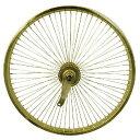 送料無料 72スポーク デイトン リア コースターブレーキ付き ホイール ゴールド 20インチ 自転車部品 ローライダー 自転車 パーツ ビーチクルーザー カスタム 部品 改造 BMX MTB GRQ サイクルパーツ Schwinn シュウィン スティングレー エレクトラ レインボー コンプトン