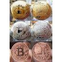 直径、約40mm・厚さ、約3mm・重さ、約30g・素材メタル・金メッキ・銀メッキ・赤銅仮想通貨のビットコインを擬似的に実現化させたメダルです。金・銀・銅の3枚セット(胴のメダルは素材は赤銅になります)赤銅とは銅に3- 5%の金を加えた合金です。実際のビットコインではございません、もちろん金銭的価値はございませんので使用したりは出来ません。【注意事項】・海外製品につき、個体差があります。・商品出荷までに3営業〜5営業日程、頂く場合がございます。・画像では光の当たり方などにより、色合い等、実際と違うように映る場合がありますのでご了承ください。