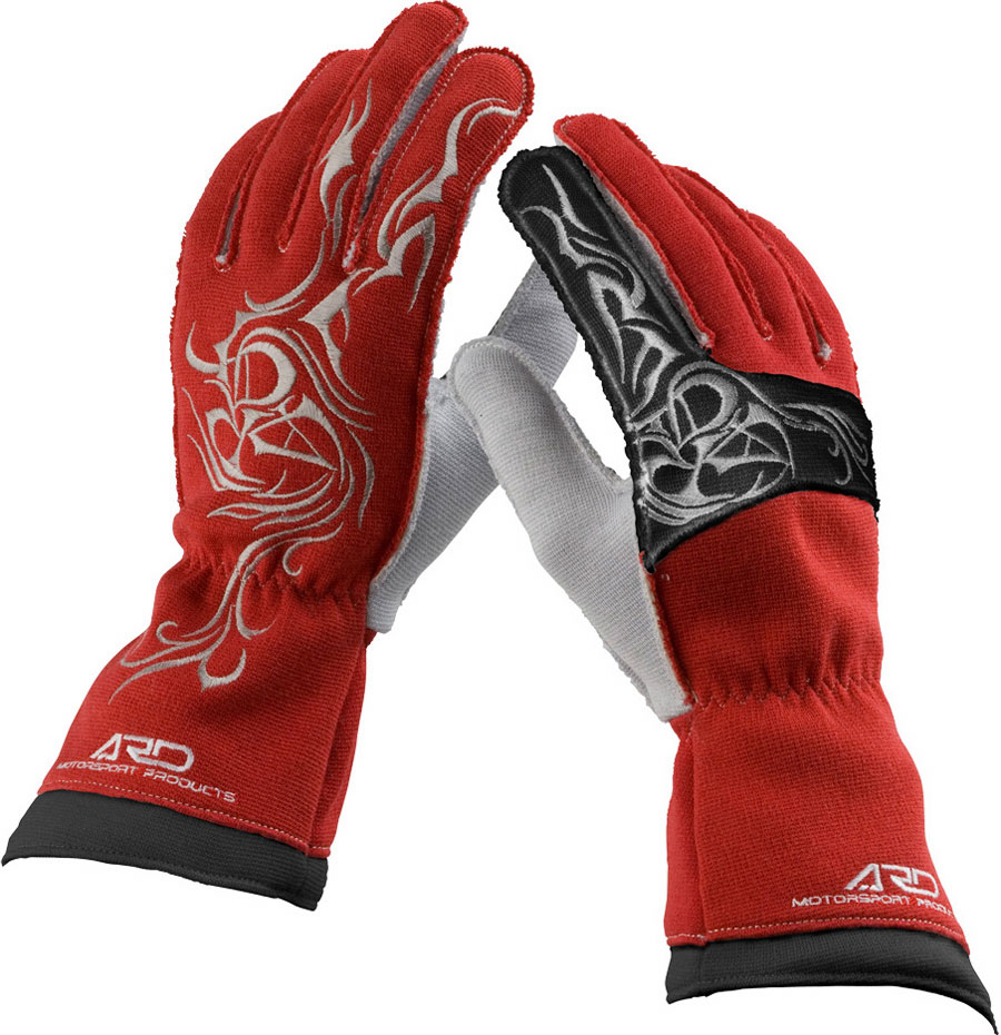 ARDレーシンググローブ ProRacer 300DR (ARD-272) ARD-272 レッド(RED) FIA公認8856-2000