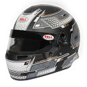 BELL RACING ヘルメット RS7 PRO STAMINA グレイ HANS SNELL SA2020規格 FIA公認8859-2015 (1310A5X)