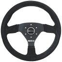SPARCO スパルコ Racing ステアリング ホイール R383 スウェード 015R383PSN