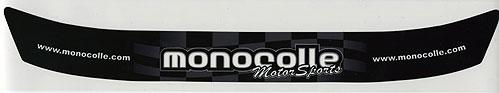 monocolleオリジナルバイザーステッカー ...の商品画像