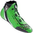 OMP レーシングシューズ ONE EVO FORMULA R SHOES Fluo green/black/white(蛍光グリーン) FIA公認8856-2000 本国取り寄せ品