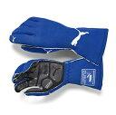PUMA レーシンググローブ PODIO Short グローブ ブルー FIA公認8856-2000規格 (927942-03)