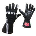 PUMAレーシンググローブ PODIO(ポディオ)ブラック 外縫い シリコンラバー タイプ FIA公認 040839-01