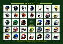 チームロータス Classic Team Lotus ドライバーズ ヘルメットポスター