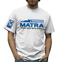 MATRA MS120 Mens T-shirt レトロ F1 Tシャツ